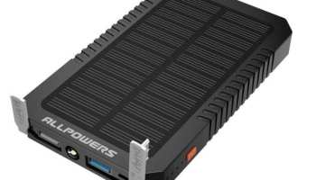 Anker PowerPort 21W 2-Port USB Solar Charger Review | Real