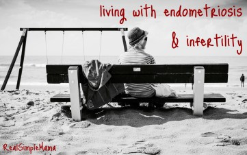Living w Endometriosis and Infertility - title image