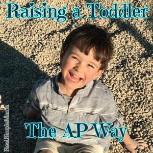 Raising a Toddler - title