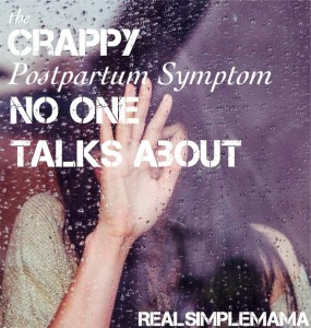 crappy pp gs - title crappy pp gs - title The Crappy Postpartum Symptom No One Talks About - Real Simple Mama