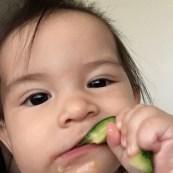 Mmm, zucchini stick!