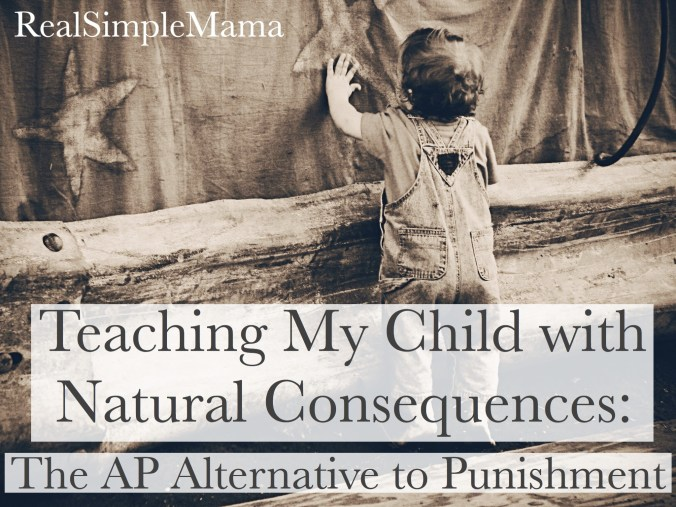 discipline punishment consequences toddler preschool parent