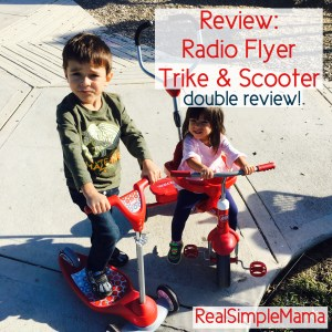 Review: Radio Flyer Trike and Scooter - Real Simple Mama image all terrain kids child ride play