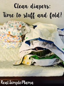 What's in my Cloth Diaper Stash? - Real Simple Mama