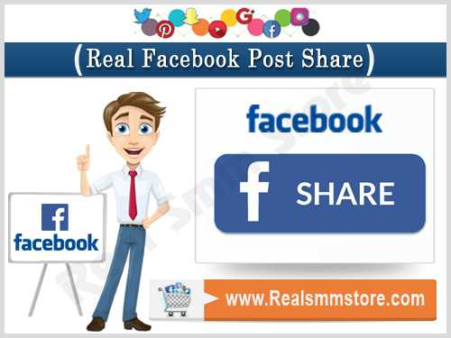 Real Facebook Post Share
