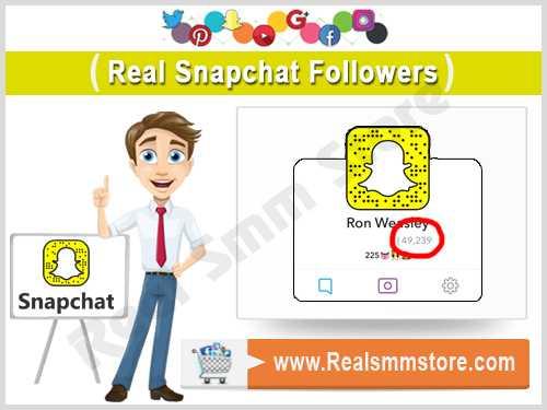 Real Snapchat Followers