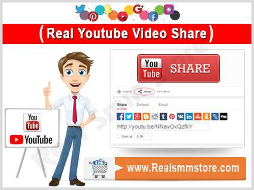 Real Youtube Video Share