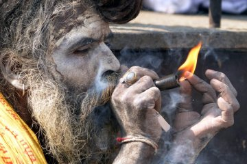 smoking cannabis tradition