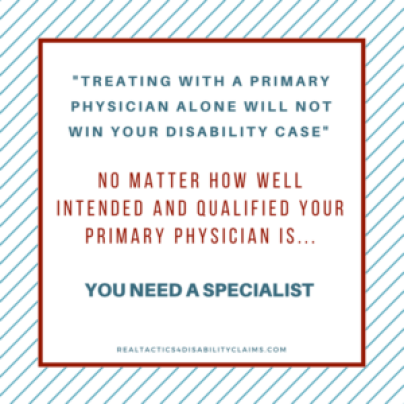treating doctor disability denial