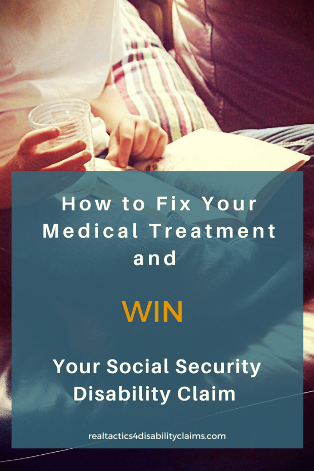 Your medical treatment may be the reason why you are getting denied your Social Security disability claim. Find out why and how you can fix it to increase your ability to win your disability claim.