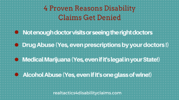 4-reasons-disability-claims-get-denied