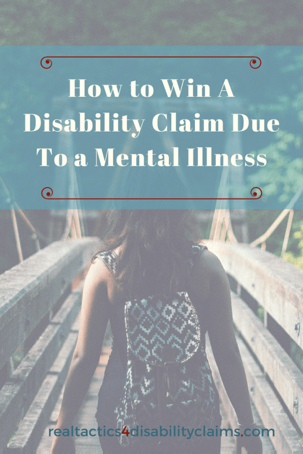 Learn how to Fix a simple but costly mistake when filing for a disability claim due to a mental illness and increase your chances to win your Social Security Disability benefits
