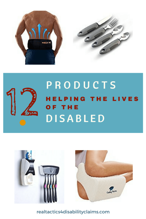 12 products helping the physically disabled to overcome difficulties with their activities of daily living and lead closer to normal lives.