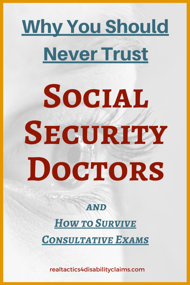 Why you should never trust Social Security Doctors