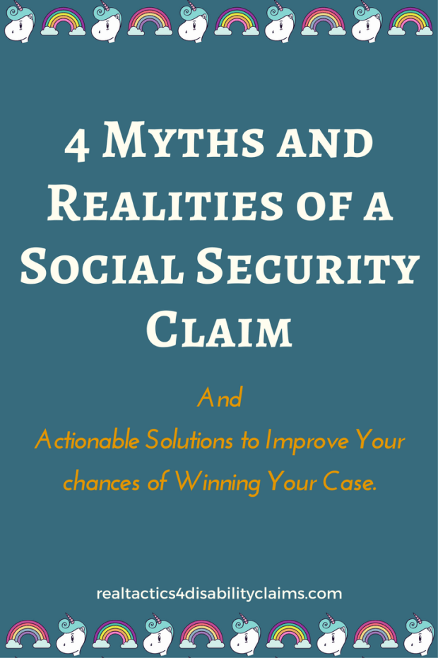 4 Myths and Realities of a Social Security Claim