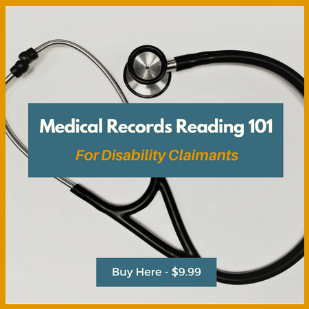 Copy of Medical Records Reading for Disability Claimants Banner Course Card for site