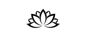 Black and White Lotus Flower - A sign of gratitude