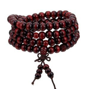 Natural Sandalwood Mala Bracelet 5