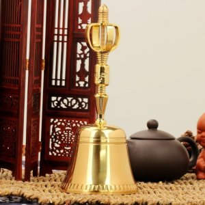 Golden Color Vajra Bell 10
