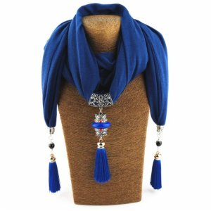 Women's Nepal Queen Necklace Scarf 10