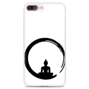 Zen Buddha Print Case for iPhone 19