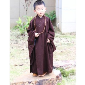 Kid's Cotton Buddhist Robe 10