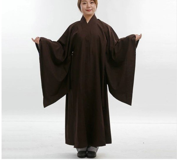 Cotton and Linen Buddhist Robe 3