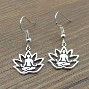 Women's Meditation Drop Earrings 8
