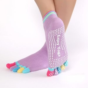 Women's Enjoy Yoga Sports Socks 3