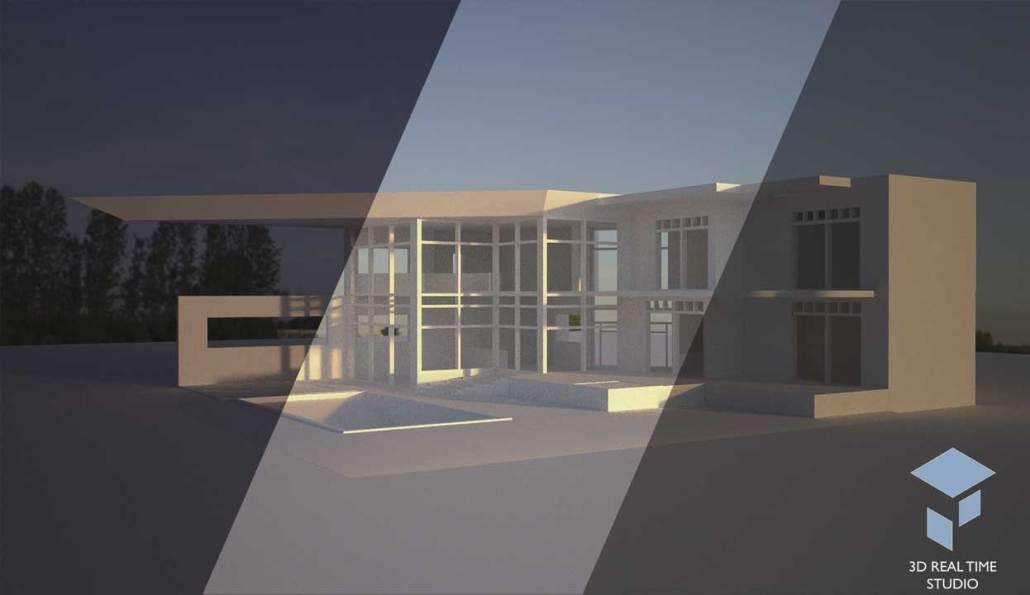 Choix du type d'éclairage de l'image 3D