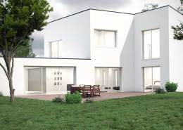 Rendu architecture extérieur photo-réaliste Vray