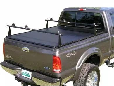 prorac str soft tonneau cover rack