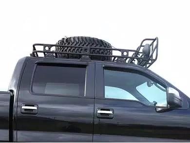 smittybilt defender spare tire mount for roof rack
