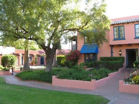 Historic Arizona Inn designed by Merritt Starkweather, FAIA