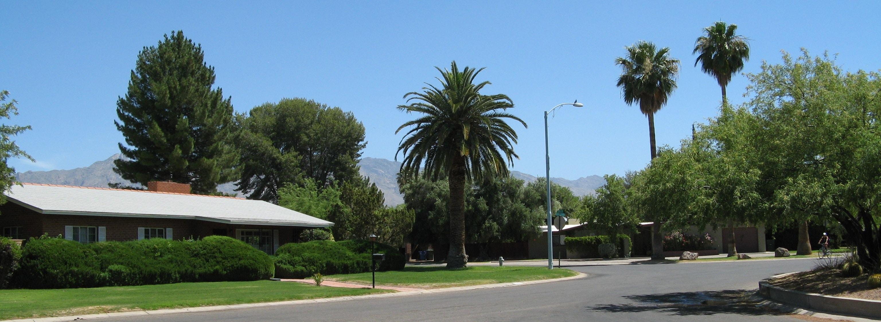 Winterhaven neighborhood, Tucson, Arizona