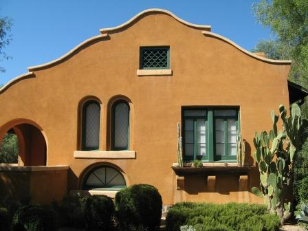 Historic Cheyney House (1905) located in Downtown Tucson