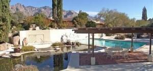 Catalina Foothills Condos Pool and Koi Pond