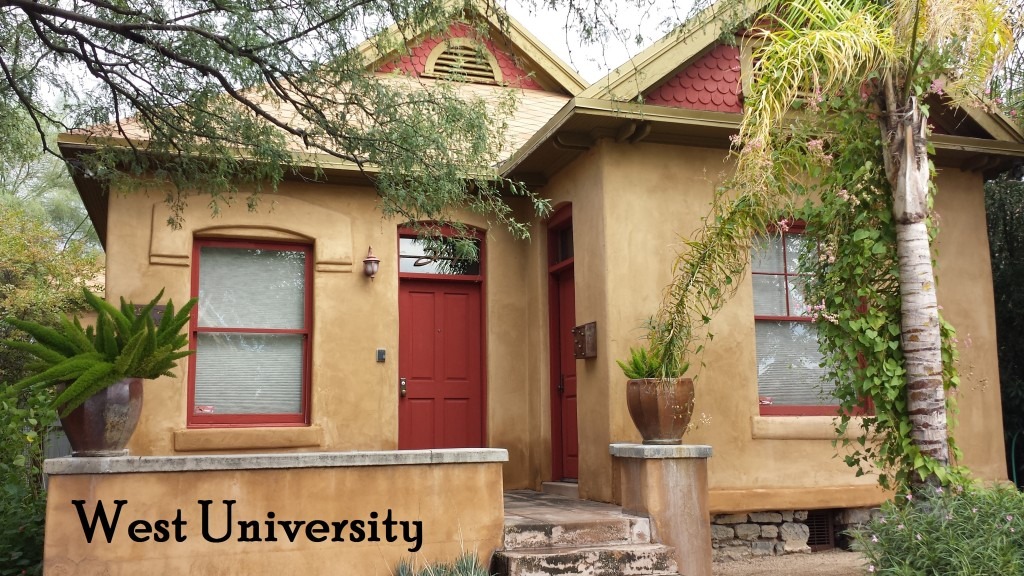 West University Historic District in Tucson