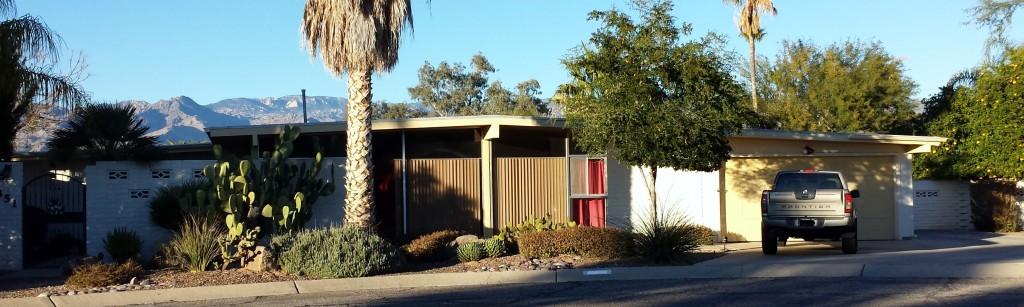 Windsor Park neighborhood in Tucson. Homes for sale