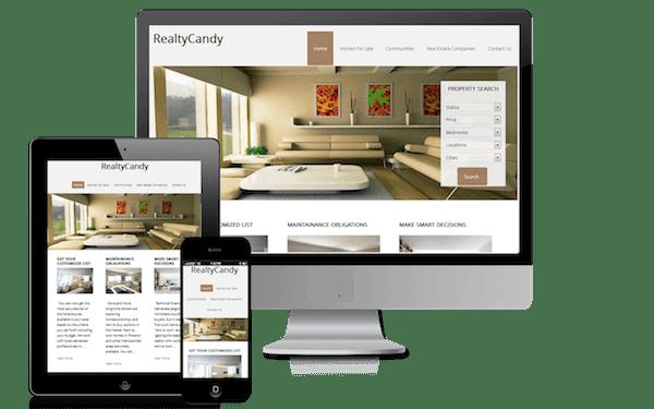 Clean Mobile Responsive Real Estate WordPress Theme AgentPress Genesis