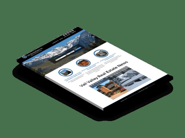 Vail Colorado Real Estate Website Design