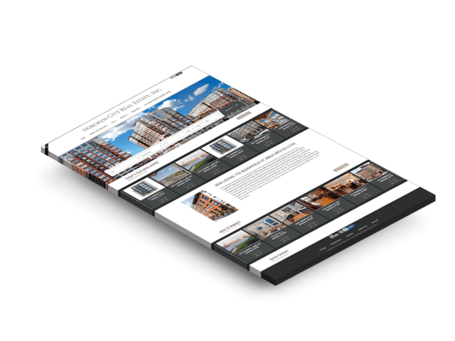 Home Page Design of Hoboken City Real Estate