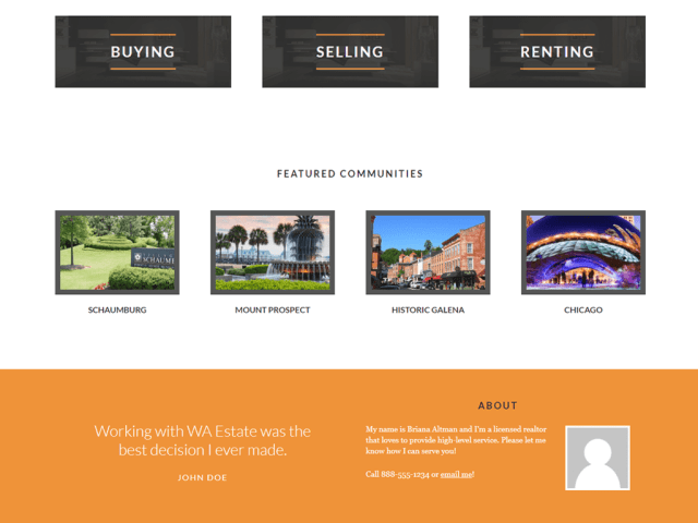 Realty Plus Website Screenshot