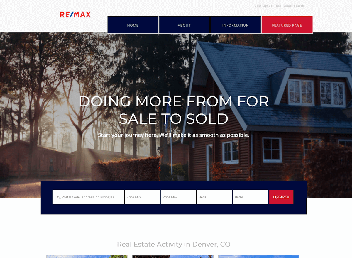 Sweethome Free Download Realestate Theme Demo Site Realtycandy