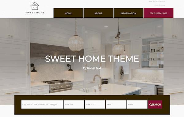 Free WordPress IDX Broker real estate theme