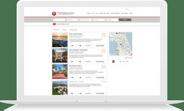 idx broker real estate site customization