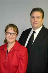 Realtors Jason and Heidi Pence