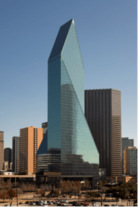 Goddard purchased Fountain Place tower in Dallas for $200 million.