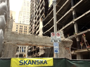 The old Houston Club building was demolished to make room for a new building by Skanska. Photo by Ralph Bivins