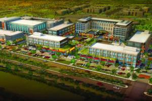 Rendering of Century Square in College Station.